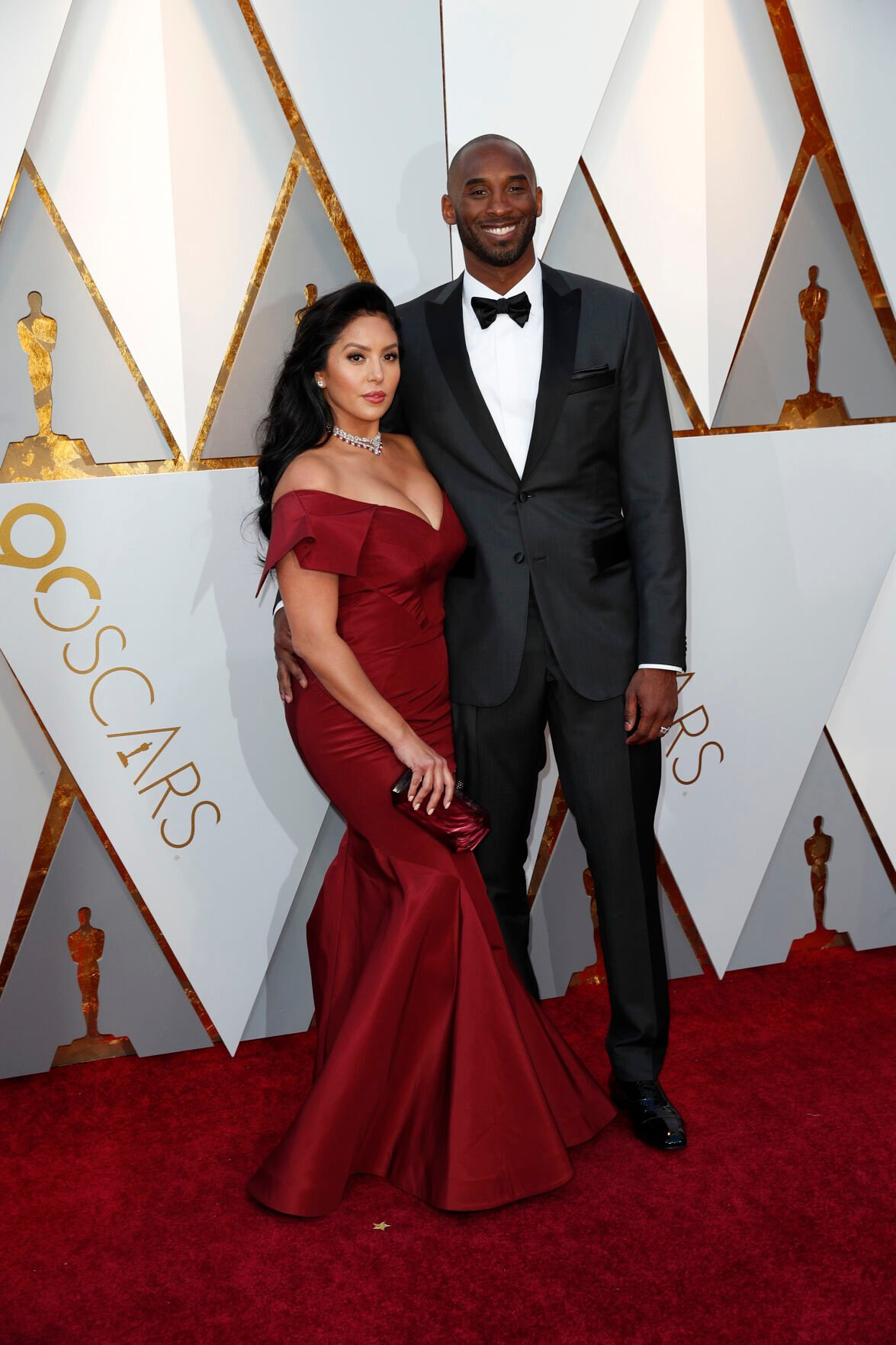 Kobe Bryant and Vanessa Laine Bryant arrive at the 90th Academy Awards on Sunday, March 4, 2018, at the Dolby Theatre at Hollywood& Highland Center in Hollywood.