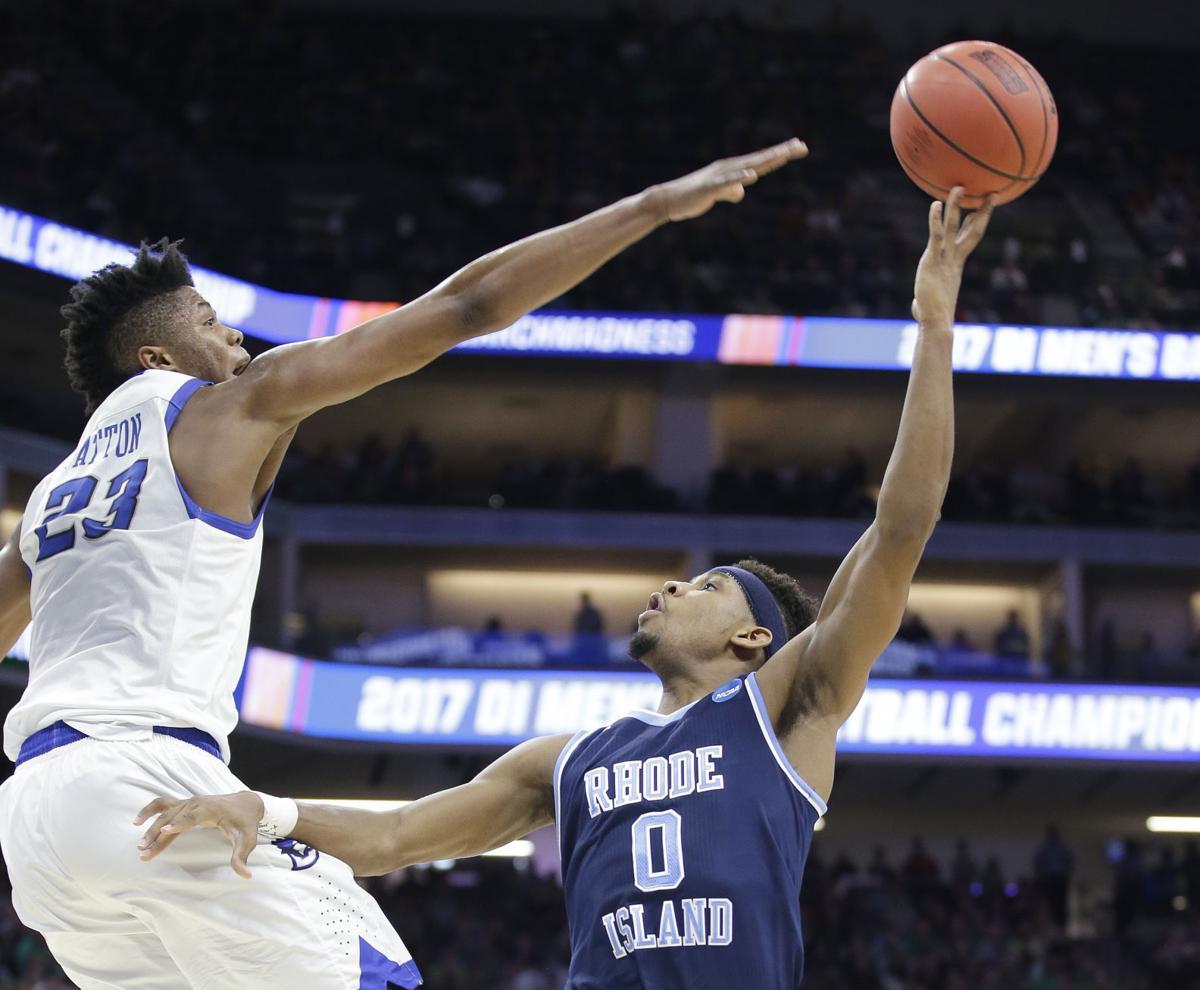 NCAA Rhode Island Creighton Basketball