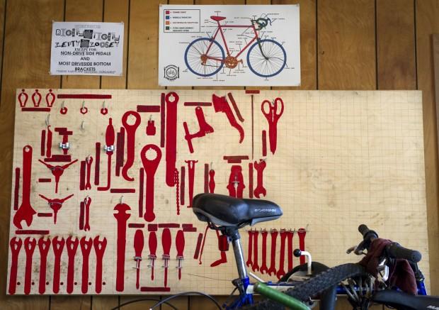 Bike Kitchen break in
