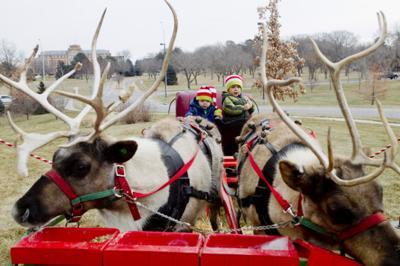 Miracle on 70th Street reindeer