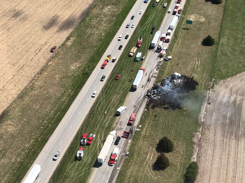 Deadly Day On I 80 Includes Four Fatality Crash And Subsequent