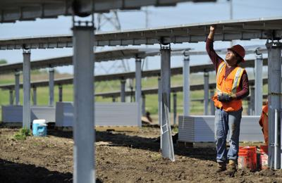 Community solar project