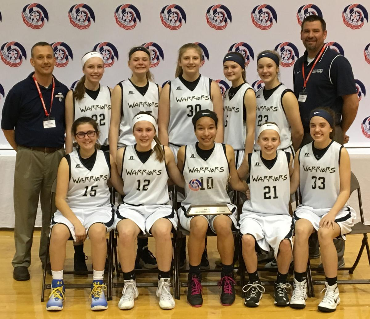 d44a5af2c23 Lincoln Lutheran Middle School girls capped a successful basketball season  with a sixth-place finish in a 32-team field at the Lutheran schools   national ...