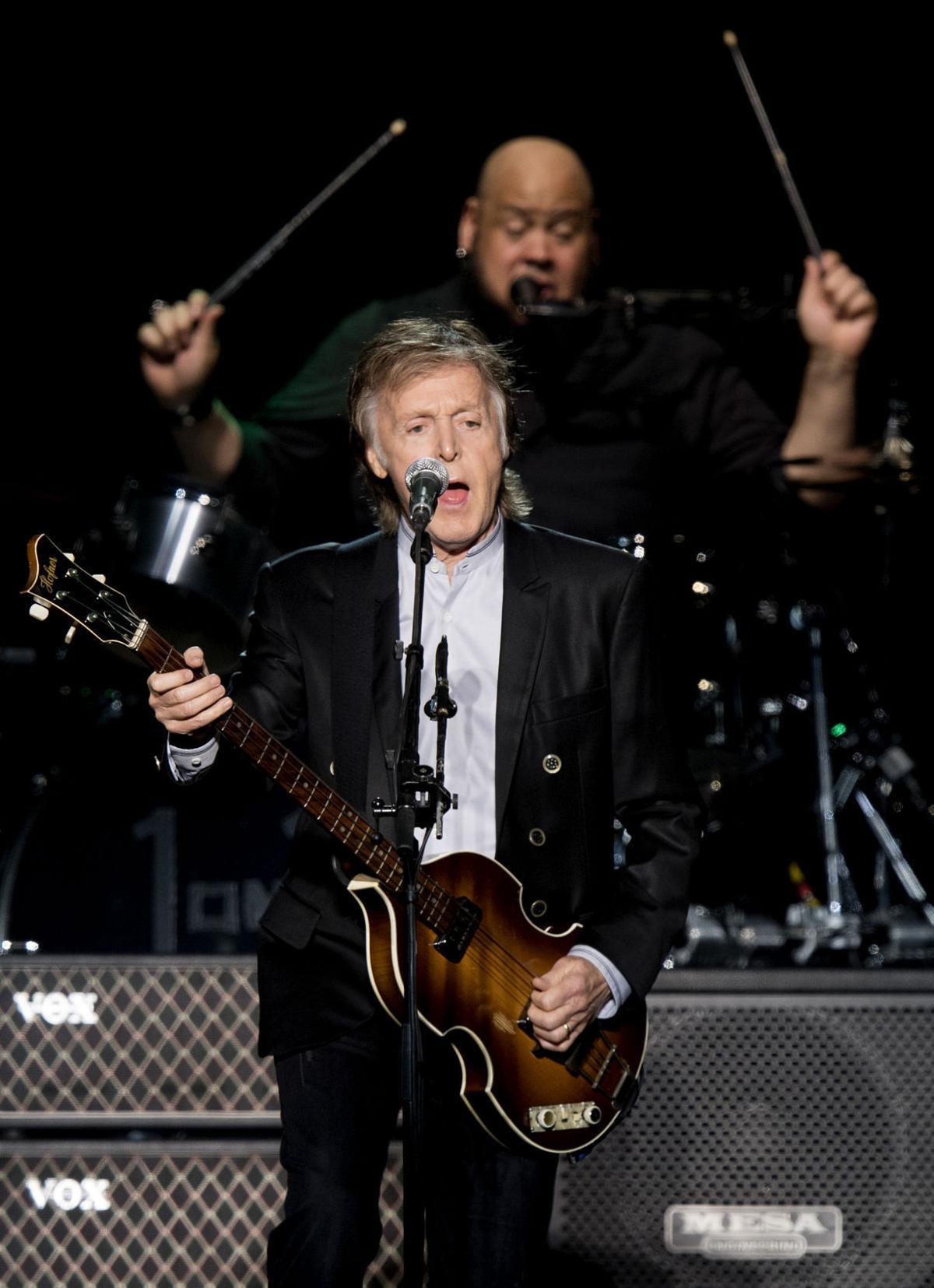 Paul McCartney at the CenturyLink Center in Omaha