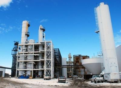 E3 Biofuels plant, Mead