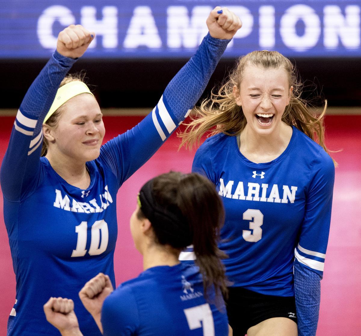Millard North vs. Omaha Marian, A final, 11/11/17