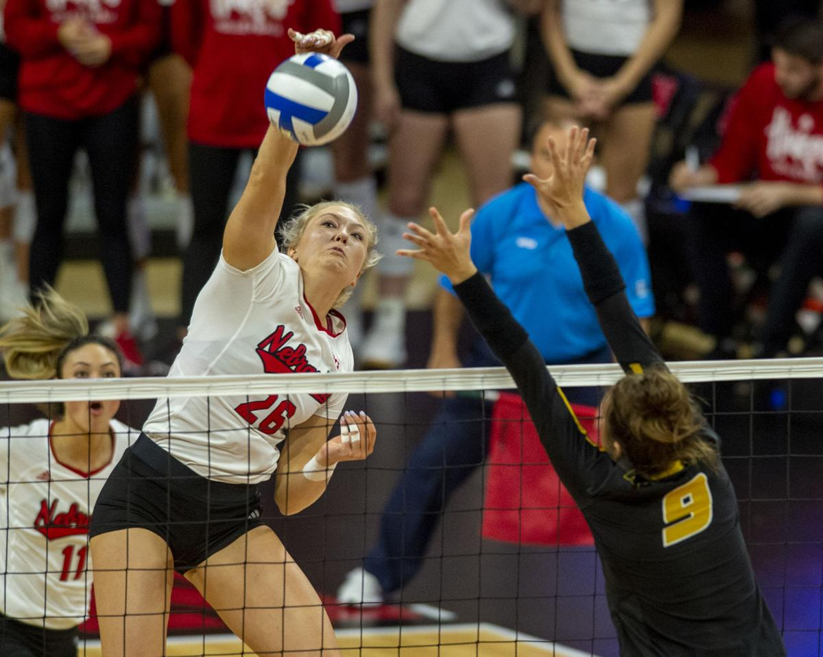 Nebraska volleyball vs. Missouri, 12.7