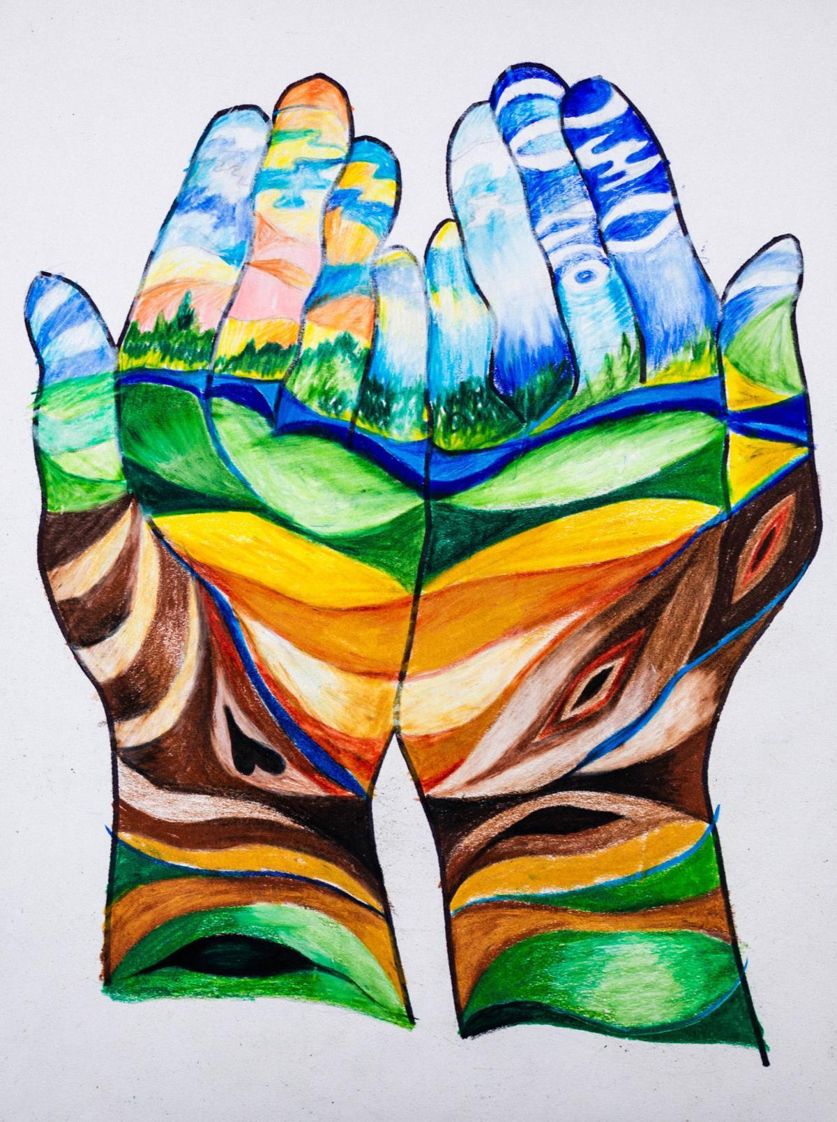 Handscape by Paula Yoachim