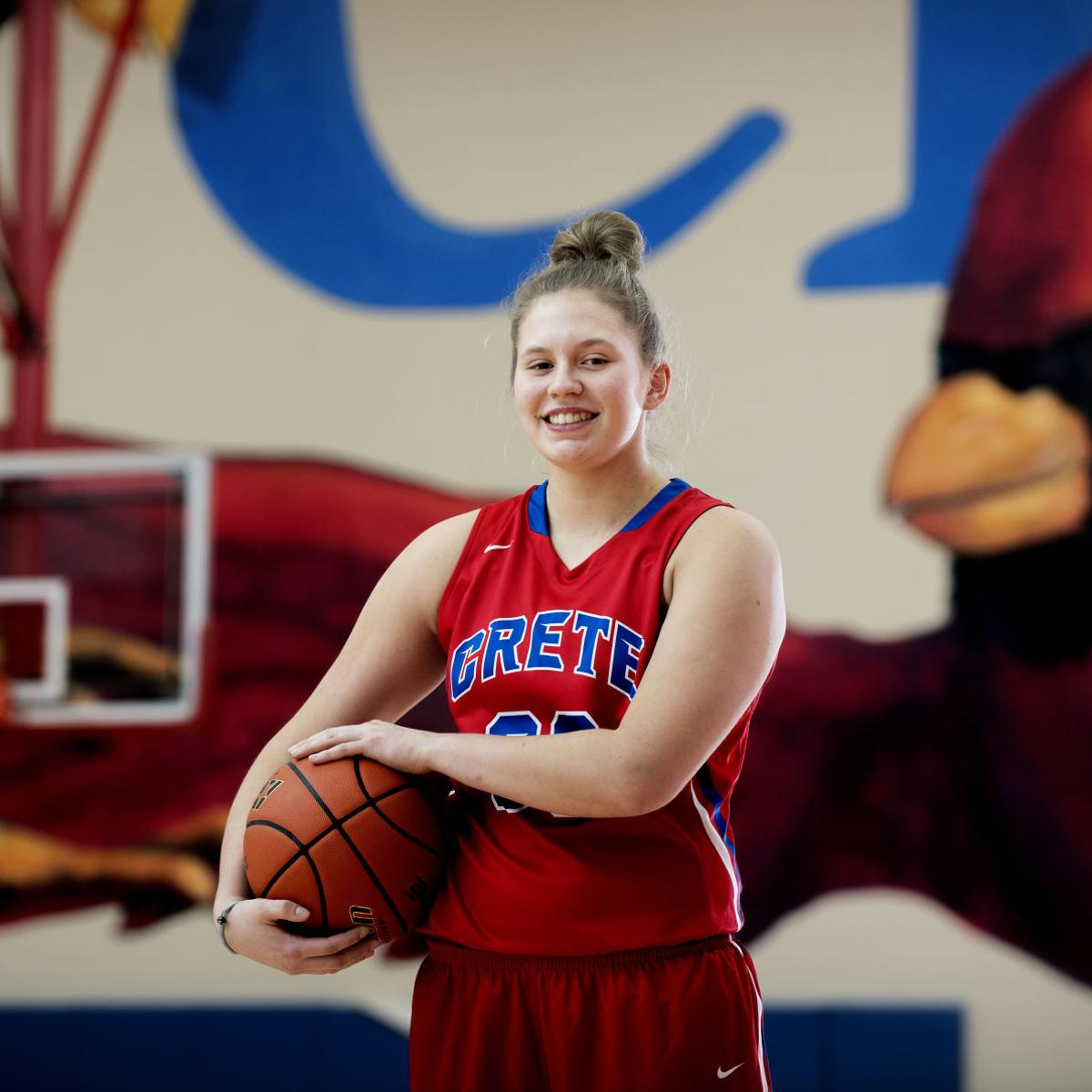 Sparked by Morgan Maly's vast skill set, Crete girls have