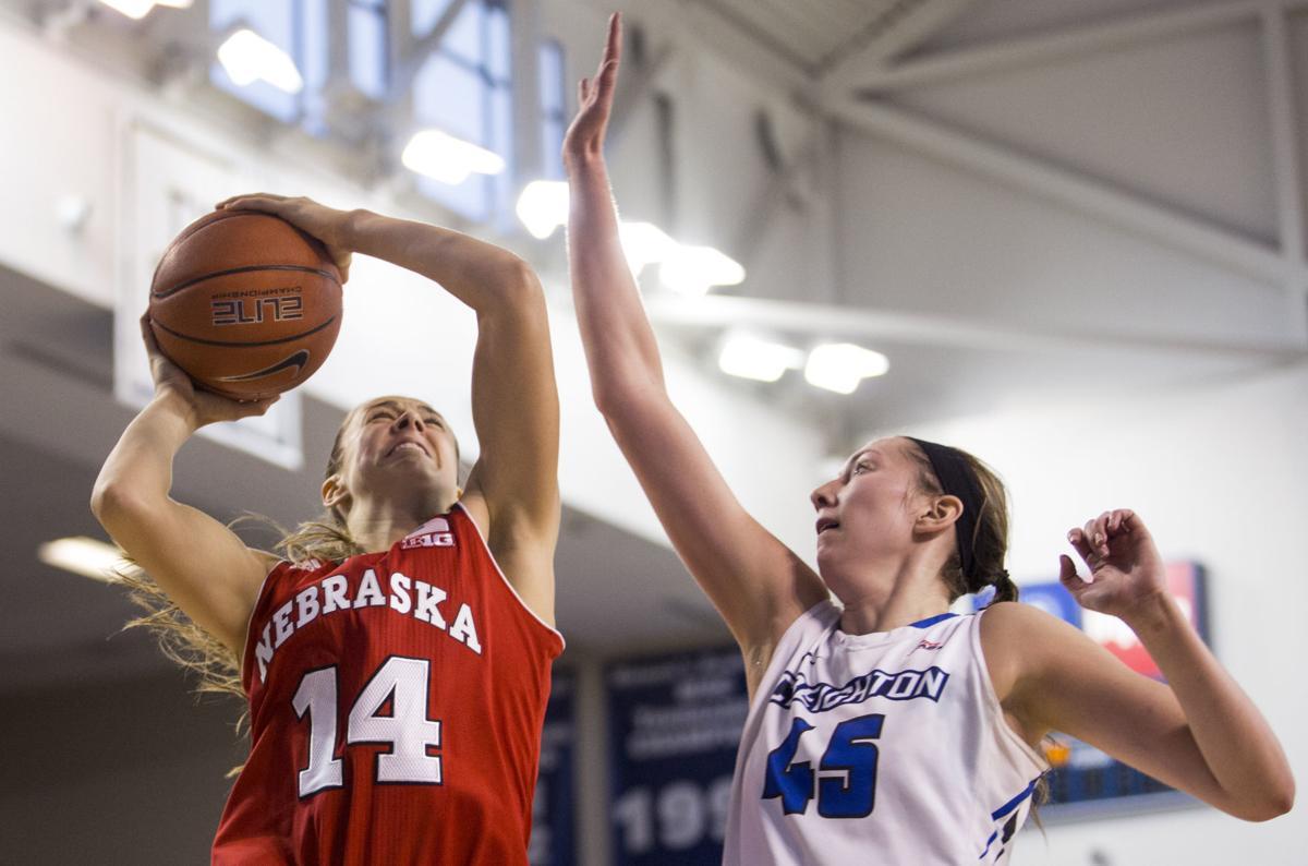 Nebraska women vs. Creighton, 12/18