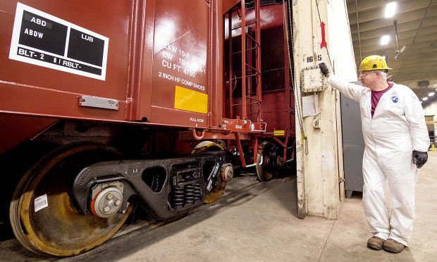 BNSF Railway Havelock shop