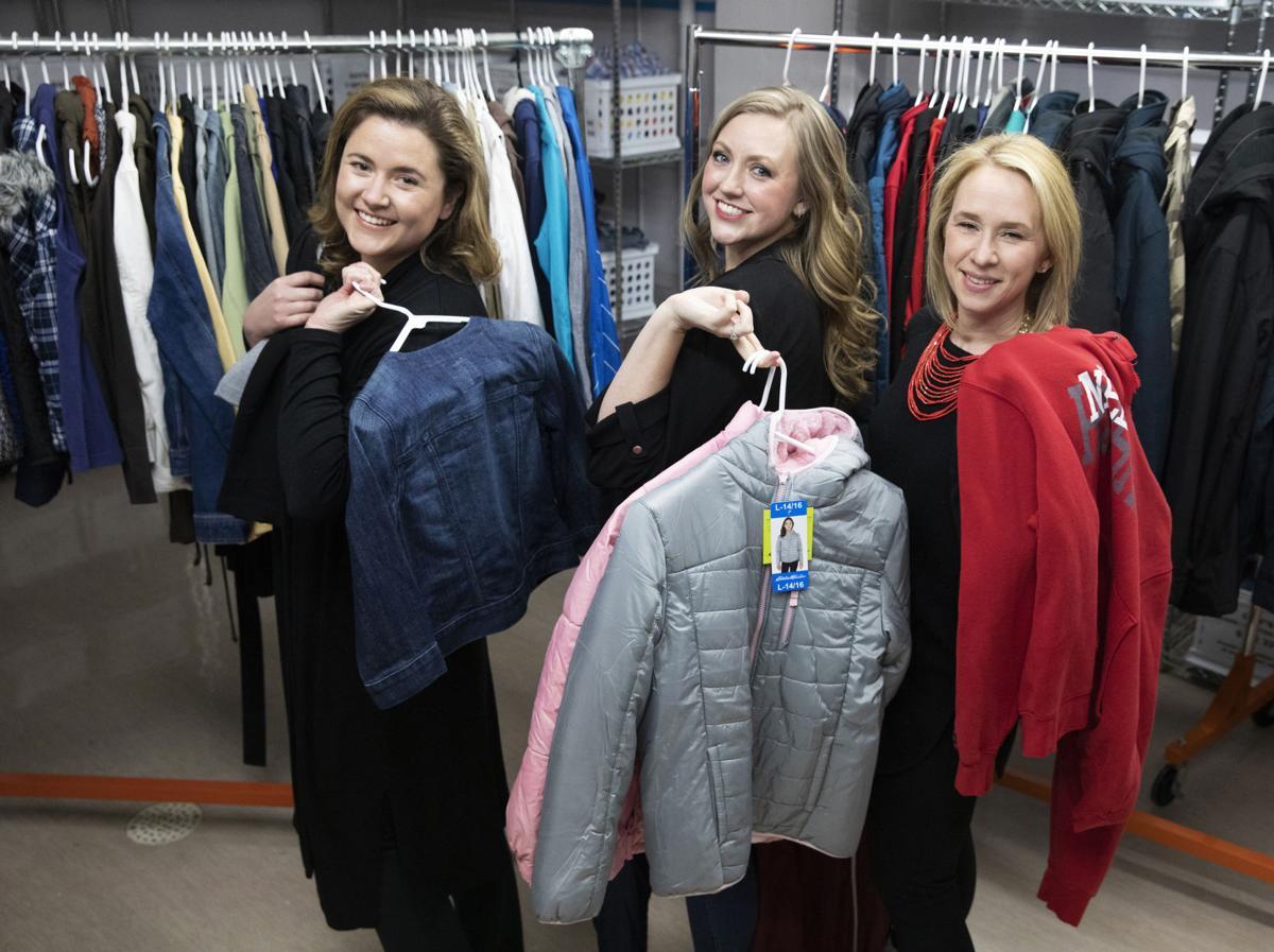 JLL Clothesline project: Elizabeth Everett, Hannah Norman, Jena Donahue
