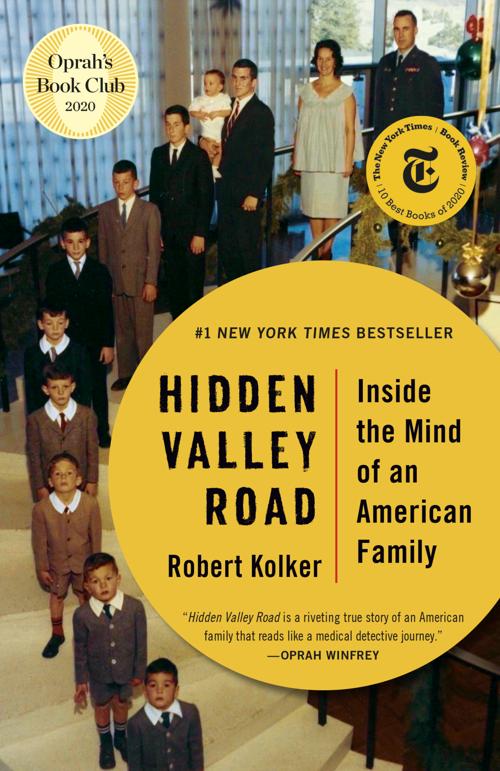 'Hidden Valley Road' book cover