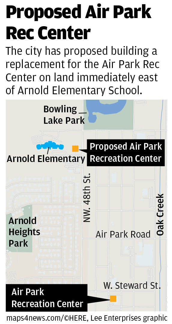 Proposed Air Park Rec Center