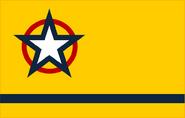 Goldenrod flag