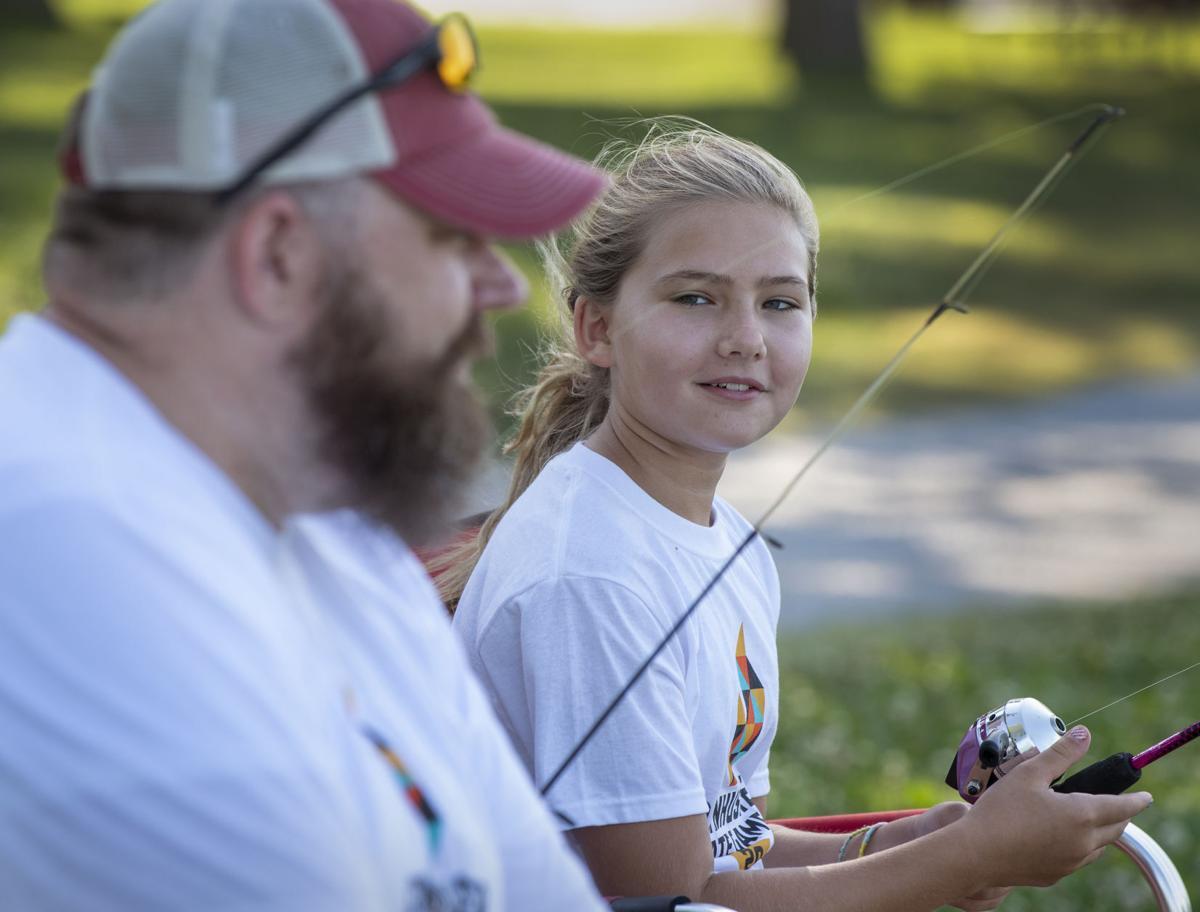 Cornhusker State Games Shoreline Fishing, 7.18