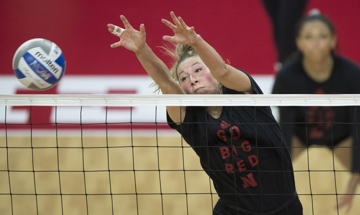 Nebraska Volleyball Practice, 8.10