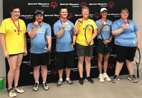 Tennis Buddies bring home medals