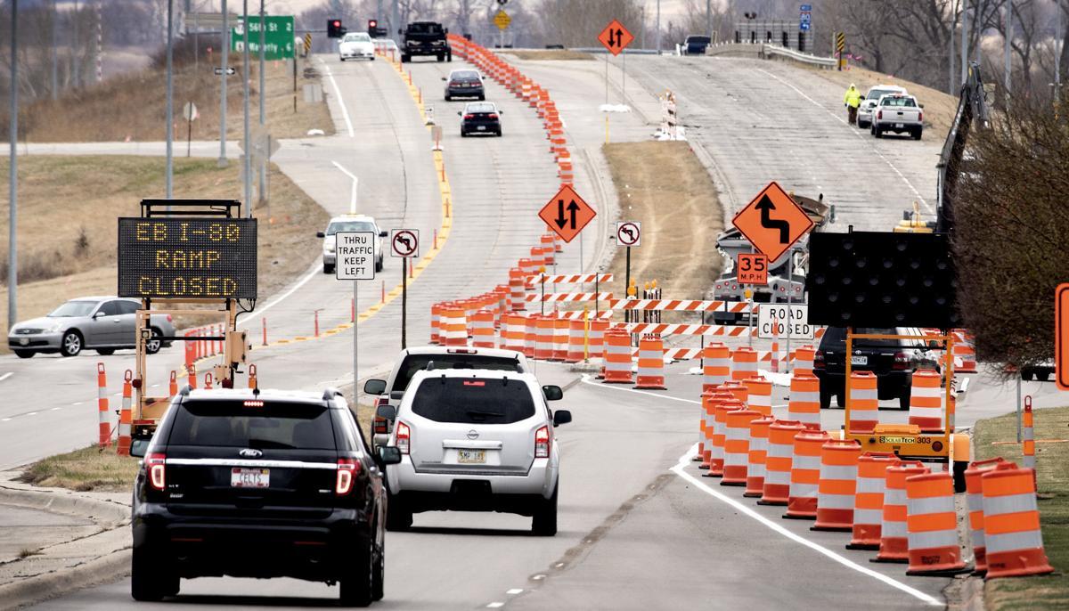Interstate 80 ramp