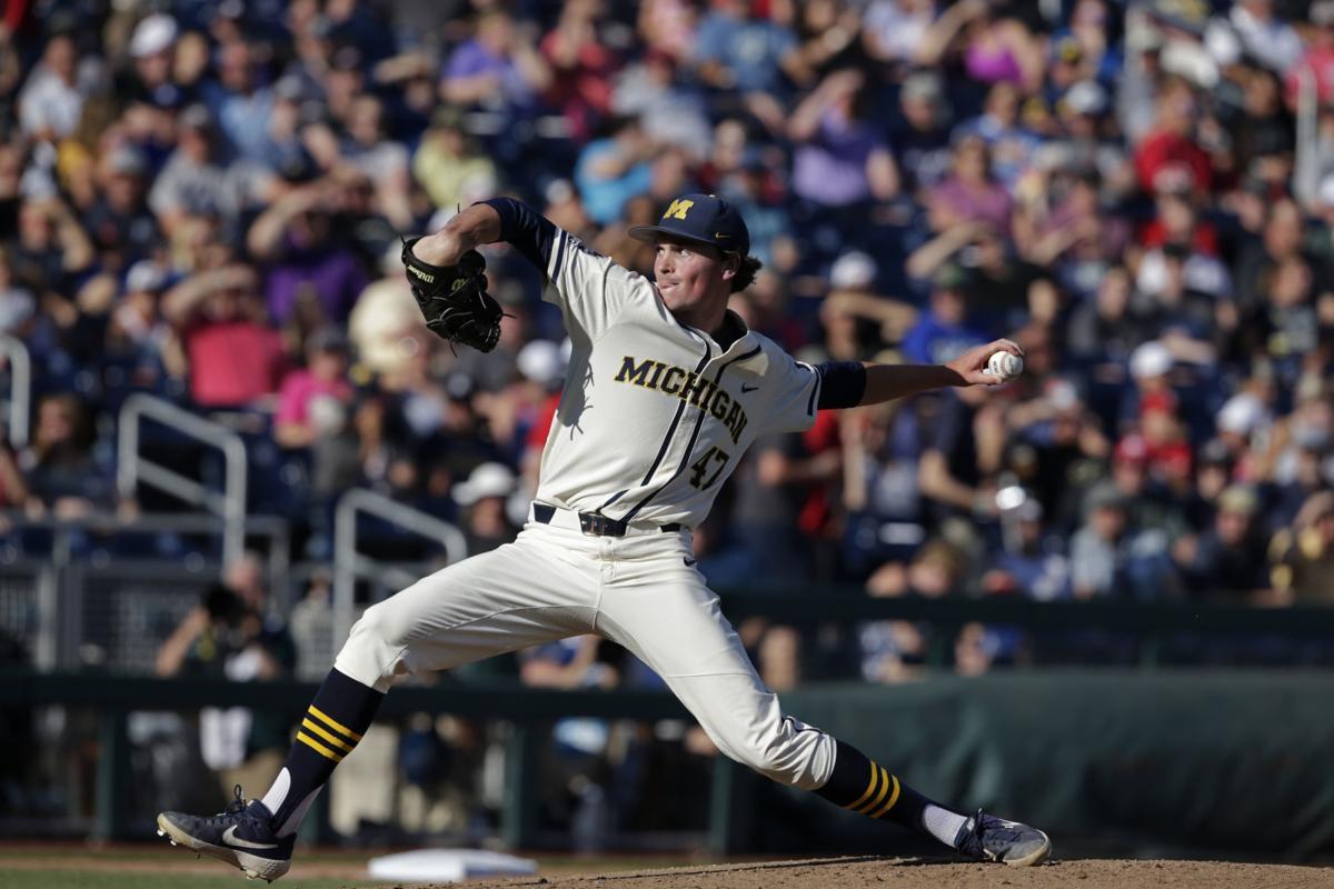 Photos: Michigan knocks off Vanderbilt in Game 1 of College