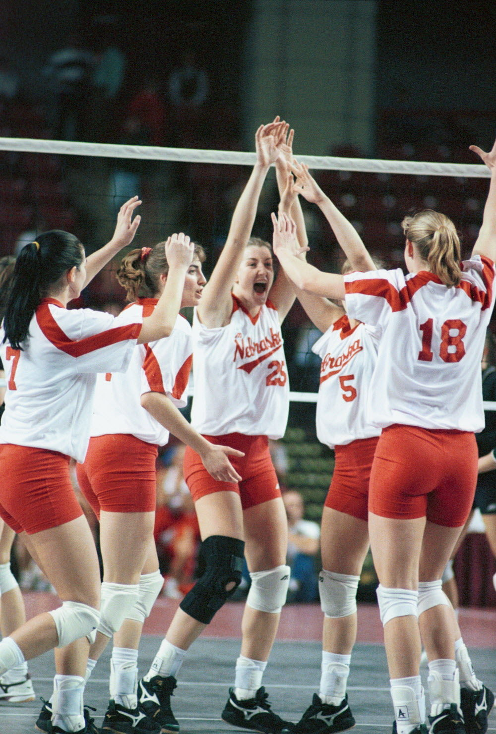 Volleyball: Huskers' first NCAA championship team ...