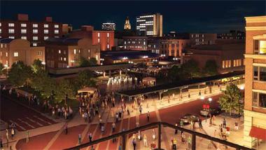 Haymarket arena plans