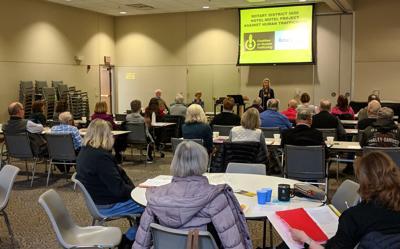 Rotary sex trafficking training seminar