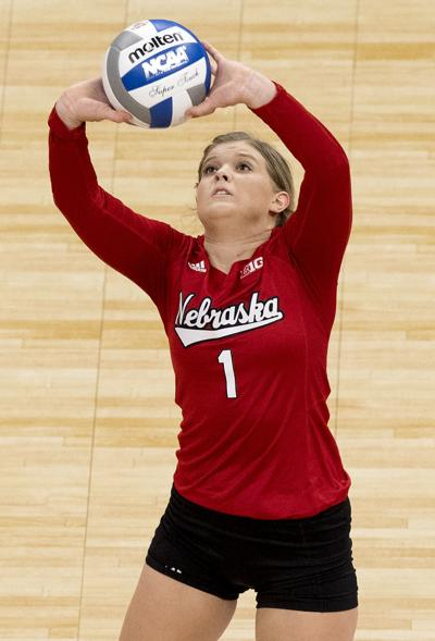 Nebraska volleyball vs. Illinois, 12.13