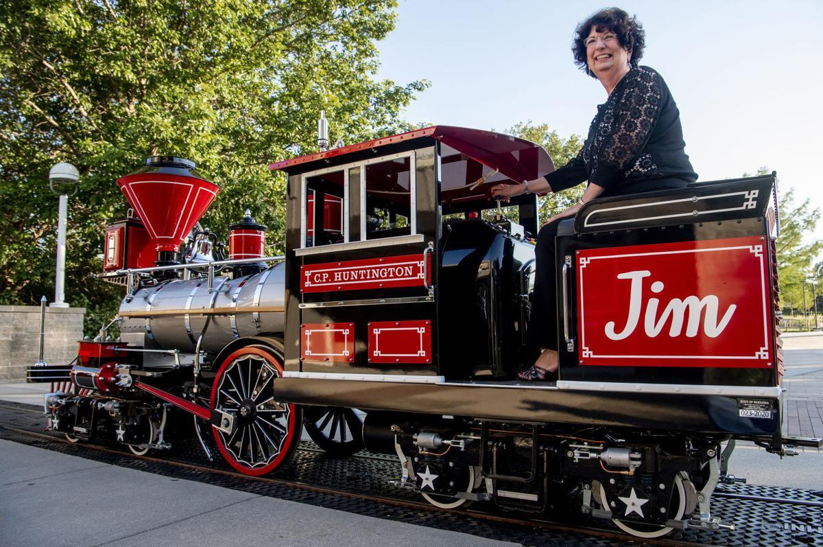 New Lincoln Children's Zoo Train Engine