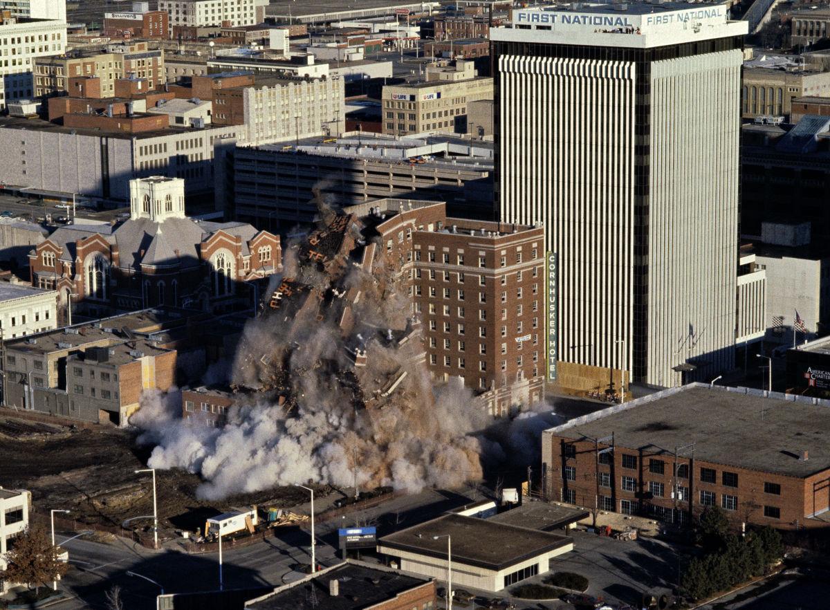 Cornhusker implosion