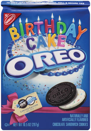 Peachy Happy Birthday To Oreo Cookie Turns 100 Food And Cooking Birthday Cards Printable Trancafe Filternl