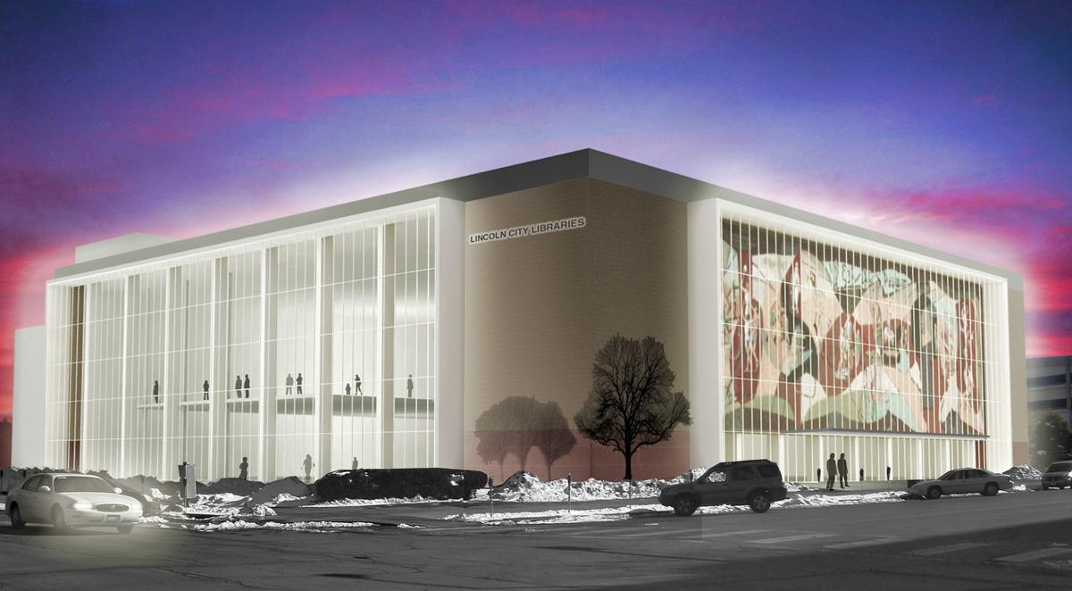 Rendering of Pershing Center
