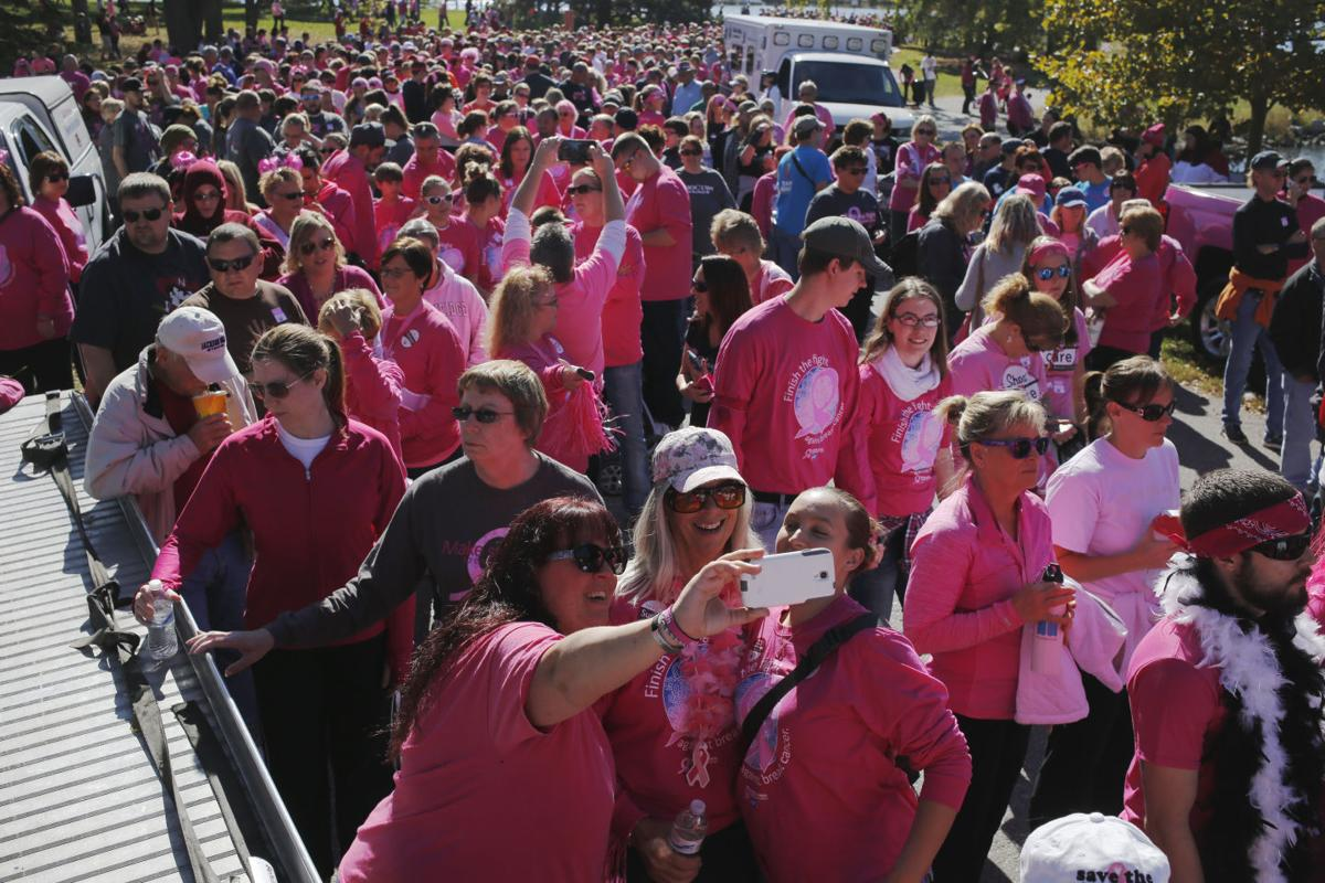 Breast Cancer Survivors Turn Holmes Lake Pink Local