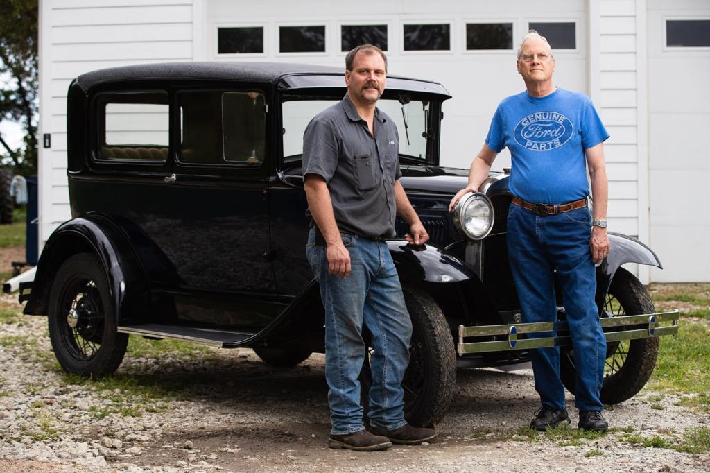 Nebraskan restores Model A, finds out it can't be licensed