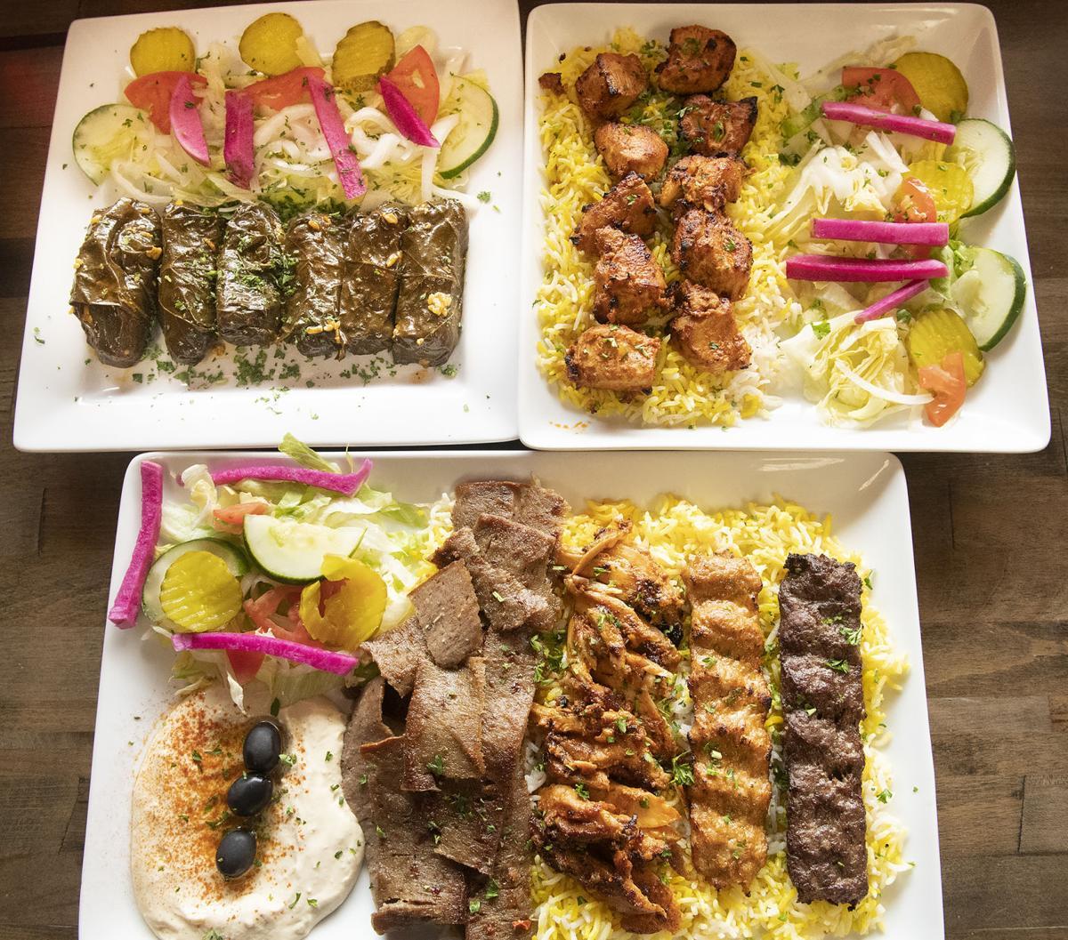 Taj Ali dining out