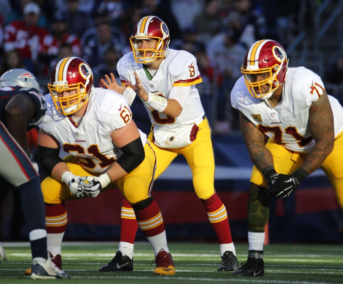 Kirk Cousins, Spencer Long, Trent Williams