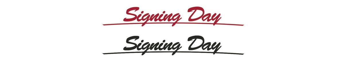 Signing day logos