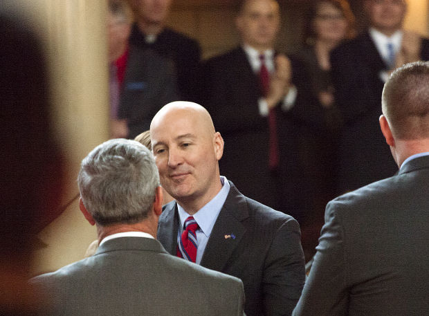 Ricketts Swearing-In