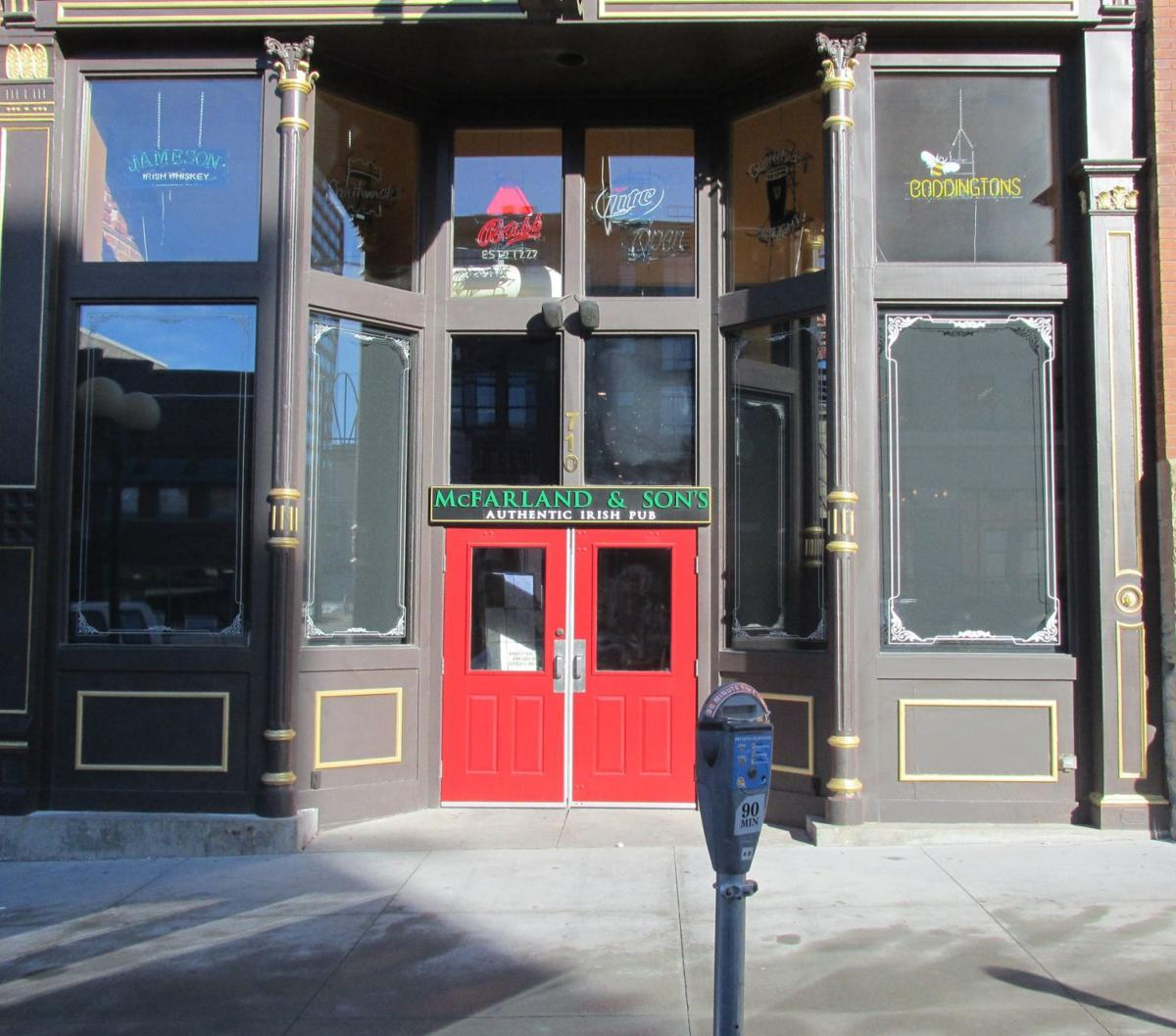 McFarland & Sons entrance