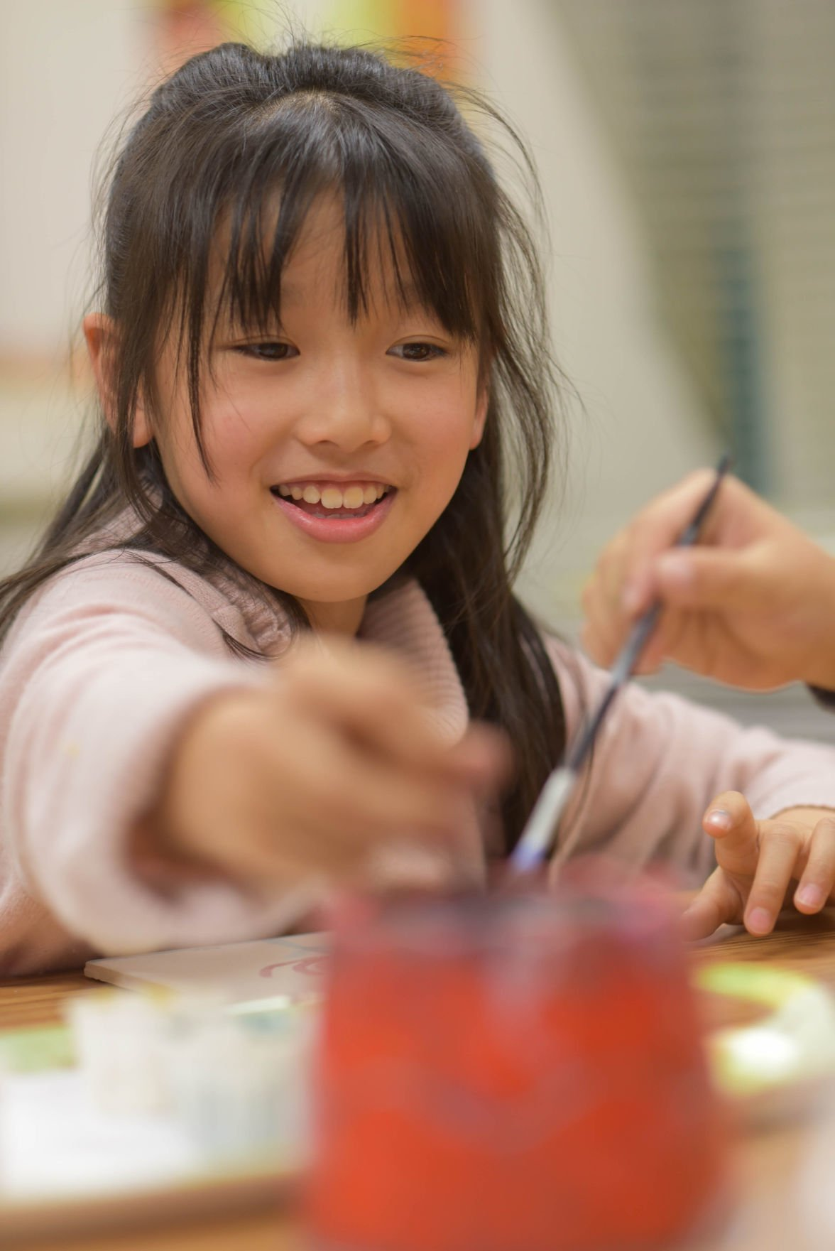 Student in upstArt at Elliott Elementary
