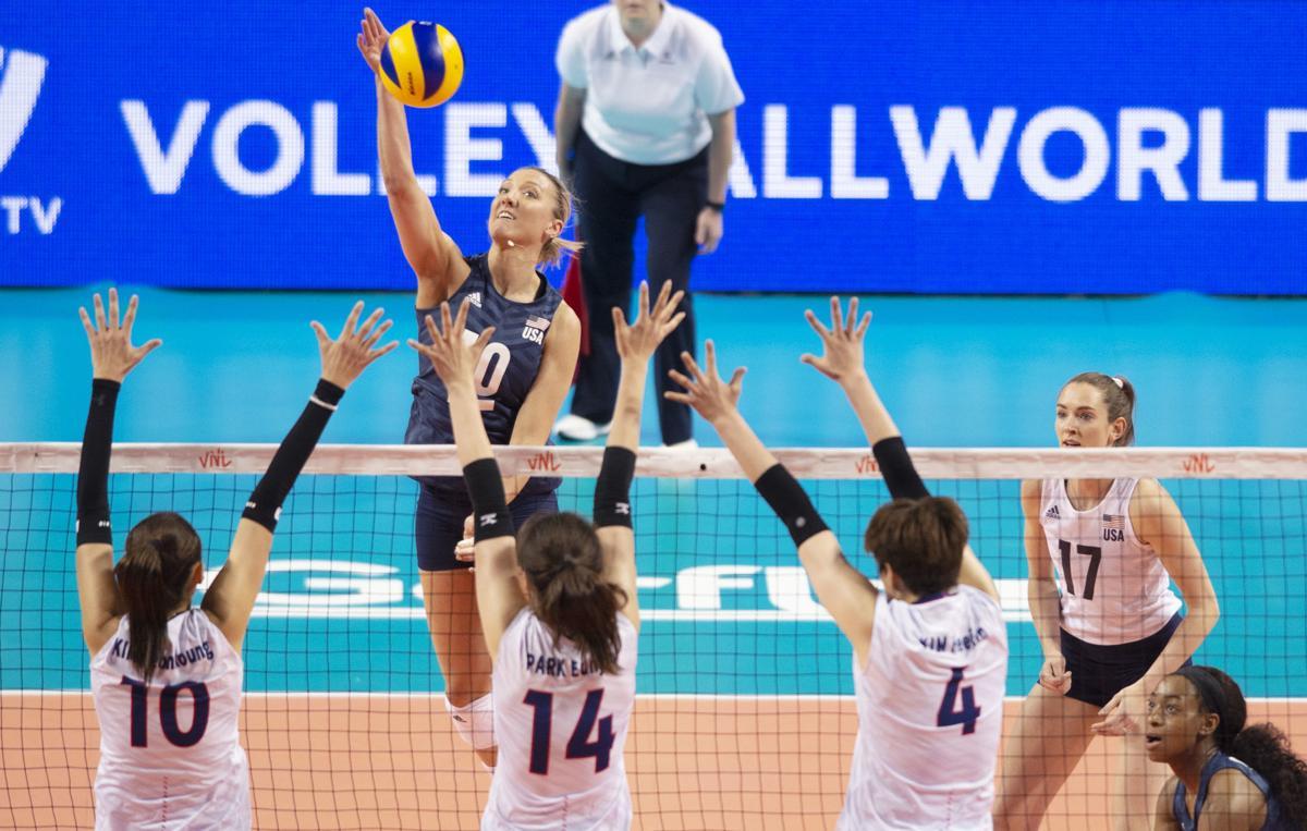 U.S. vs. Korea volleyball, 6.4