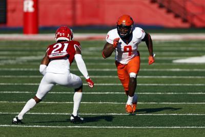 Illinois wide receiver Josh Imatorbhebhe