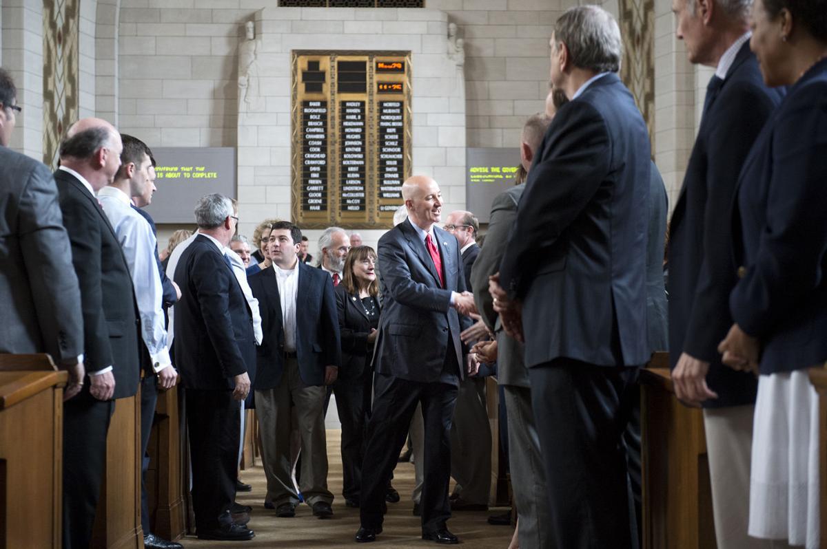 Legislature last day