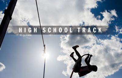 High school track and field logo 2014