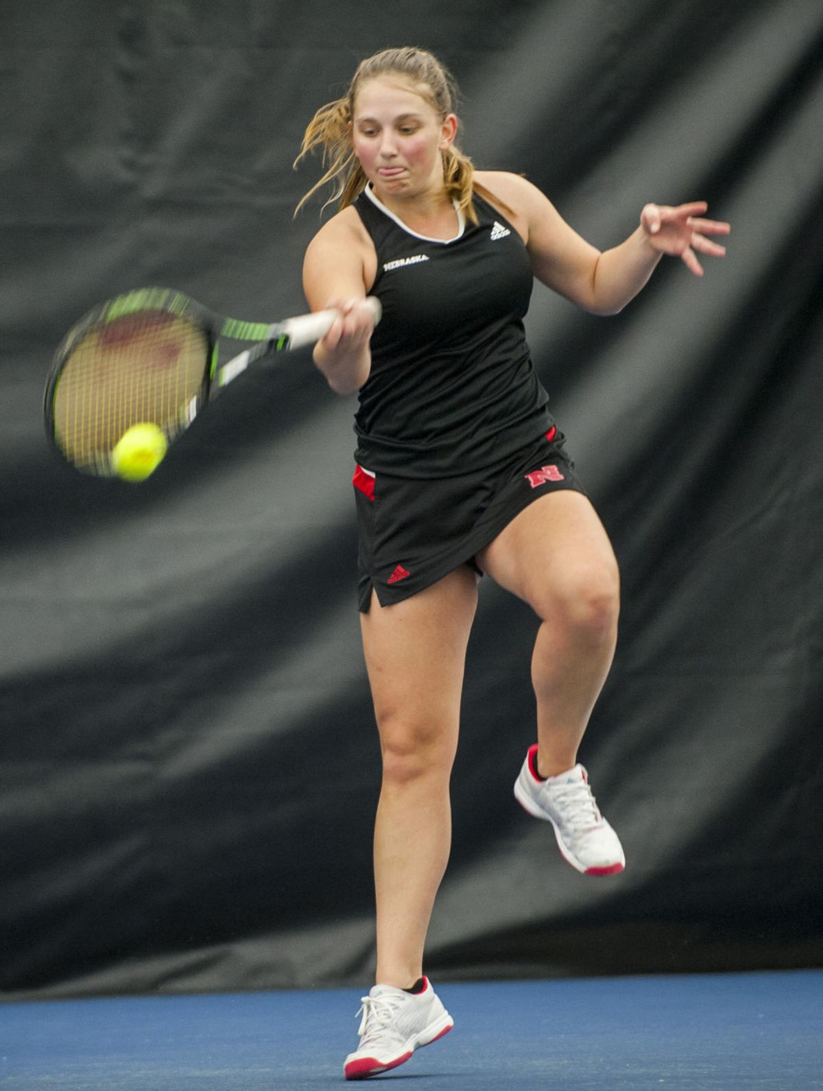 Nebraska women's tennis team hosts Michigan State ...
