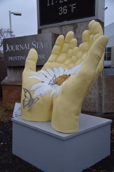 Into the Sun sculpture