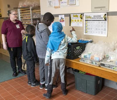 LPS Food Distribution