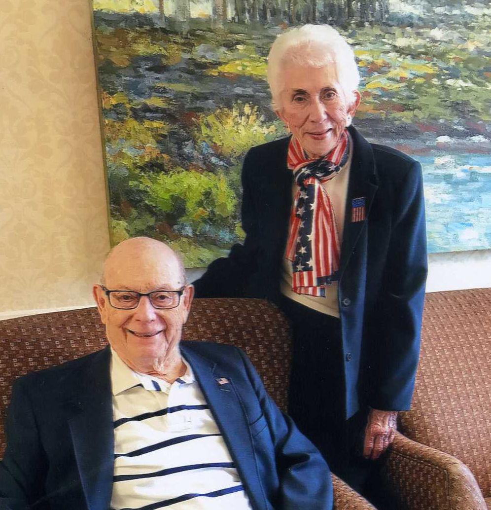 Happy 72 anniversary, Roy and Margie Martin