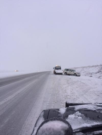 Interstate 80 snow