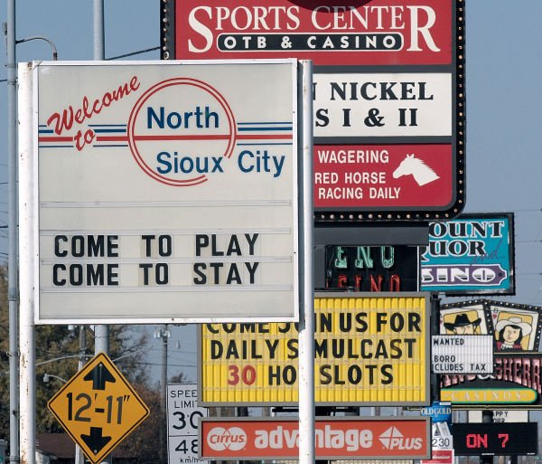 North Sioux City strip